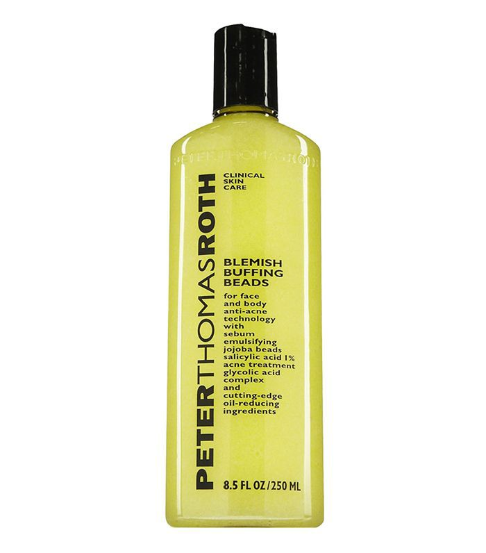 best face scrub: Peter Thomas Roth Blemish Buffing Beads