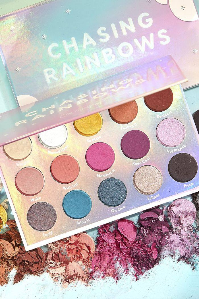 Colourpop Chasing Rainbows Pressed Powder Shadow Palette