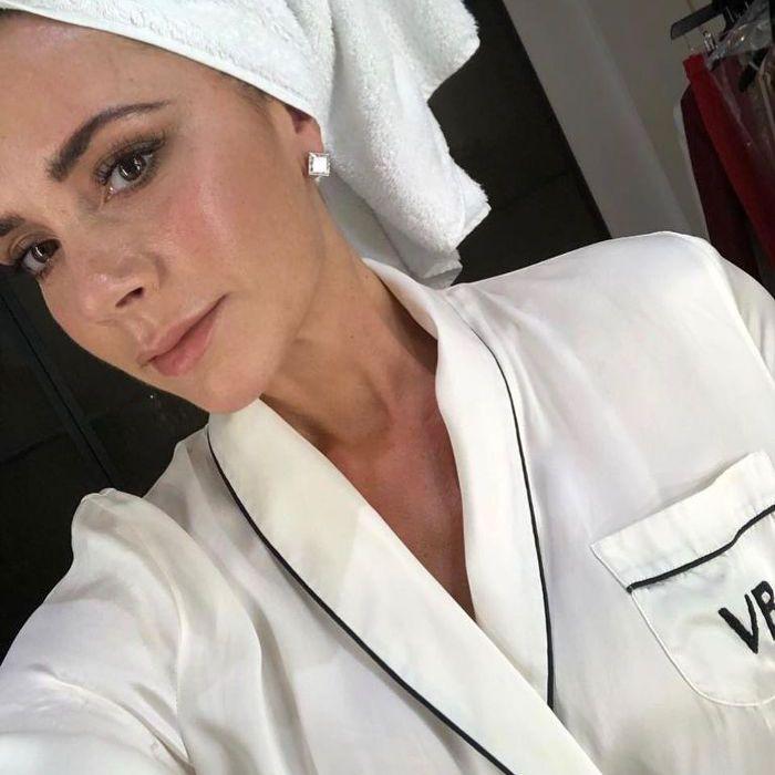 victoria beckham beauty routine