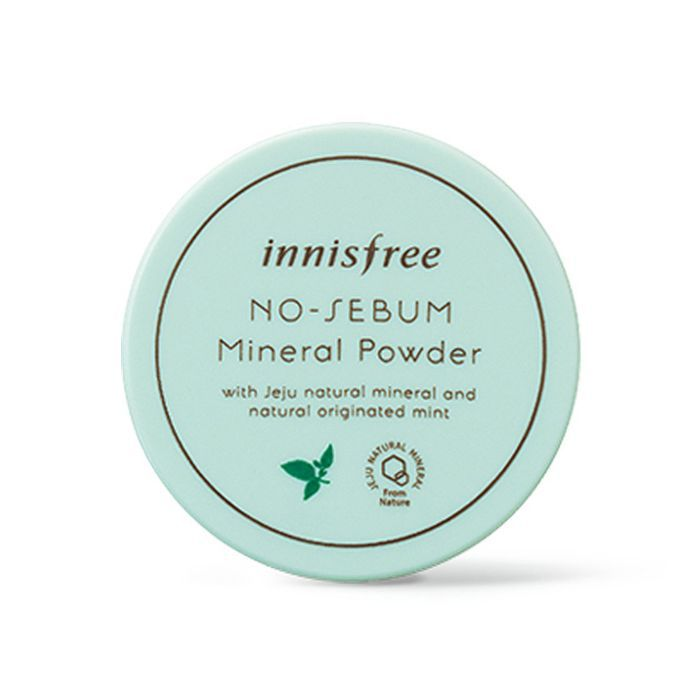 best drugstore beauty buys: Innisfree No Sebum Mineral Powder