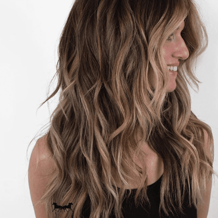 17 Photos Of Dark Brown Hair With Highlights