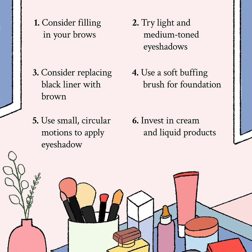 9 Helpful Makeup Tips for Women Over 9