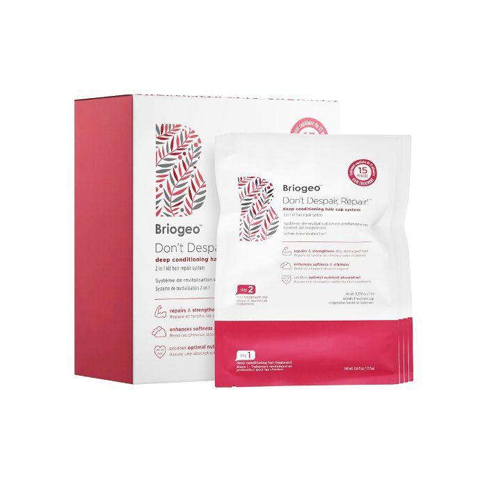 Best Hair Masks for Damaged Hair: Briogeo Don't Despair, Repair! Deep Conditioning Hair Cap System