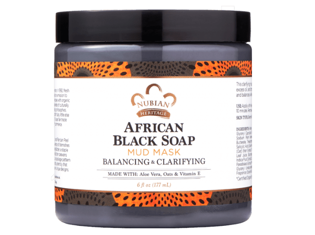 Nubian Heritage African Black Soap Mud Mask