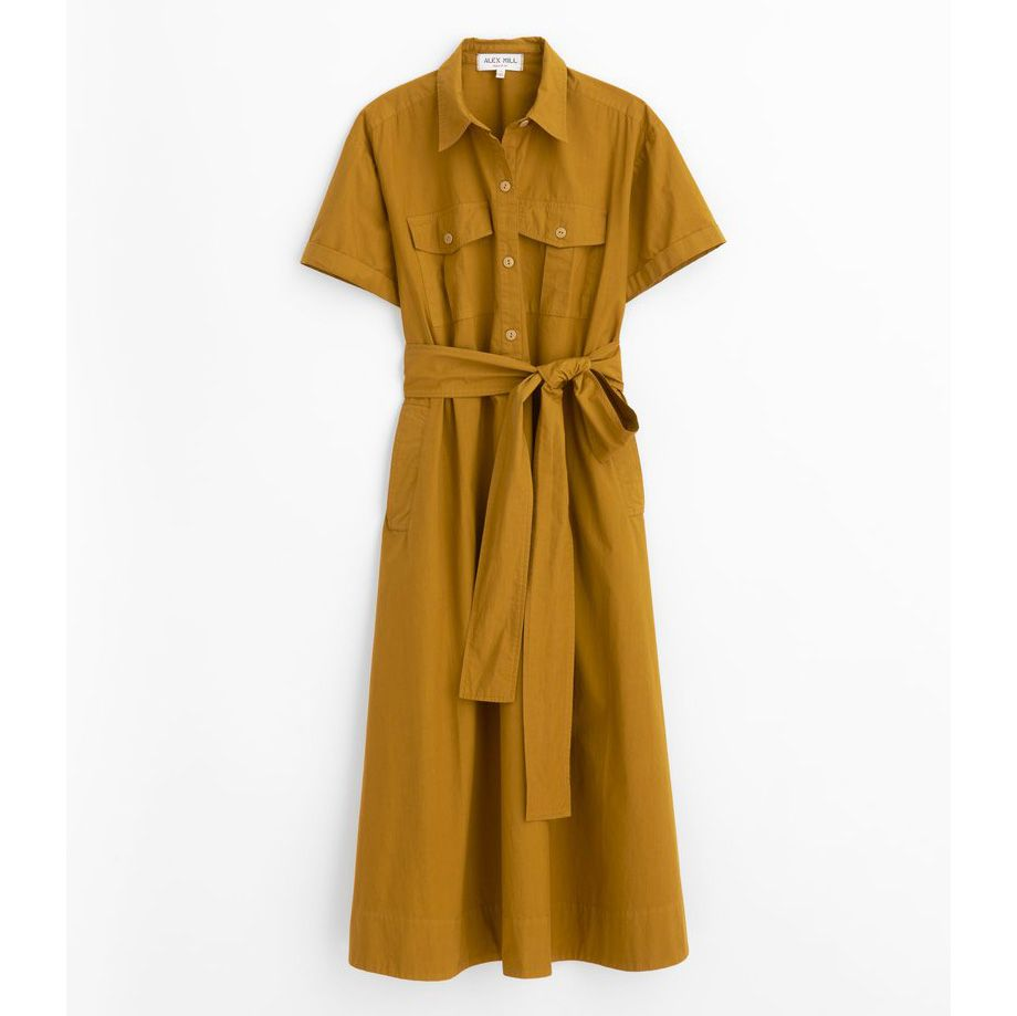 Alex Mill Safari Dress with Sleeves