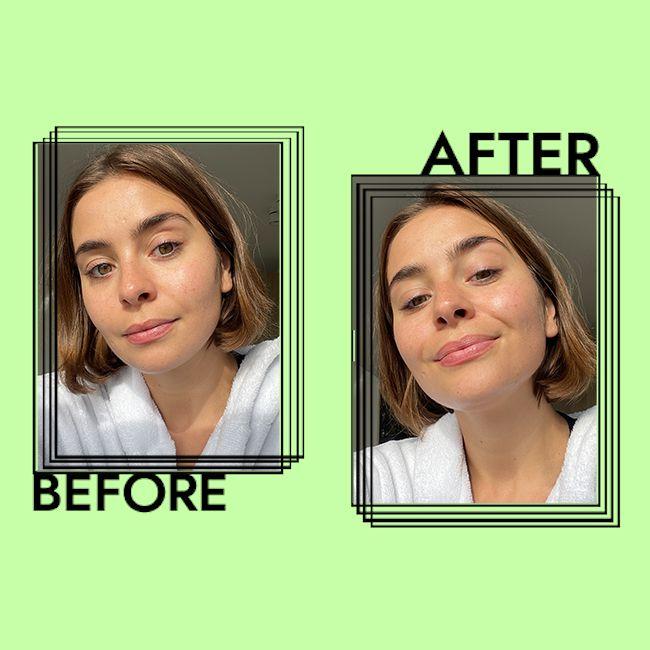 Shiseido Ultimate Sun Protector Lotion SPF 50+ Results on Emily Algar