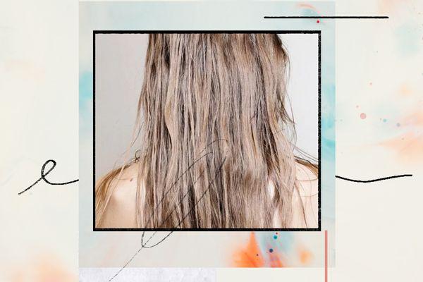 woman's hair