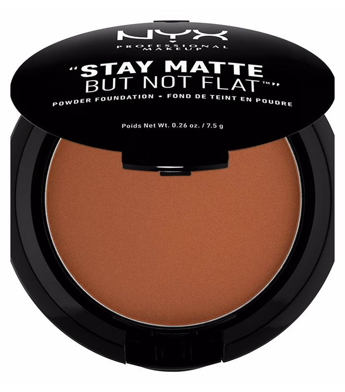 Best drugstore matte foundation: NYX Stay Matte Powder Foundation