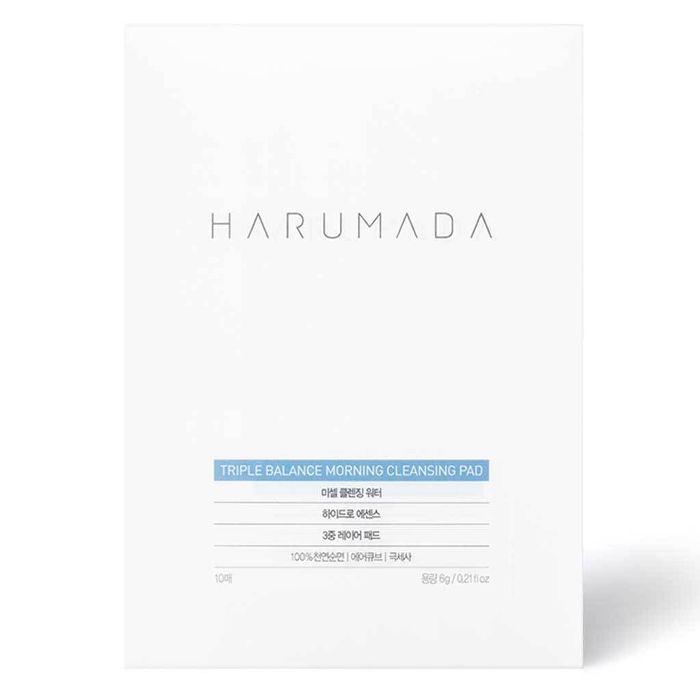 Harumada Triple Balance Morning Cleansing Pad