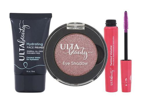 compilation of ulta beauty products