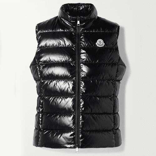 Moncler Ghany Quilted Shell Down Gillet