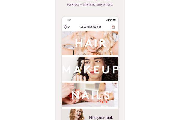 GlamSquad App Interface