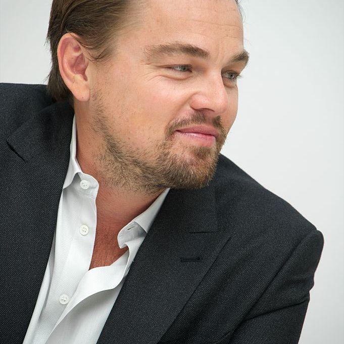 Leonardo DiCaprio hair 2014