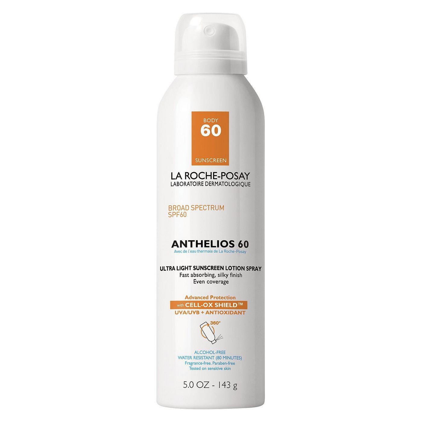 La Roche Posay Anthelios Ultra Light Sunscreen Spray Lotion
