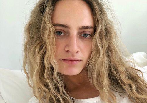 Hallie Gould hair