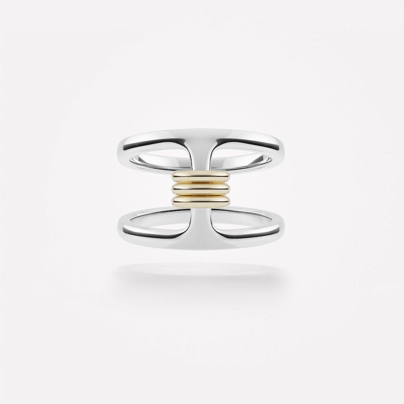 Accessories Hoorsenbuhs x Spinelli Kilcollin Phantom SK Silver Ring