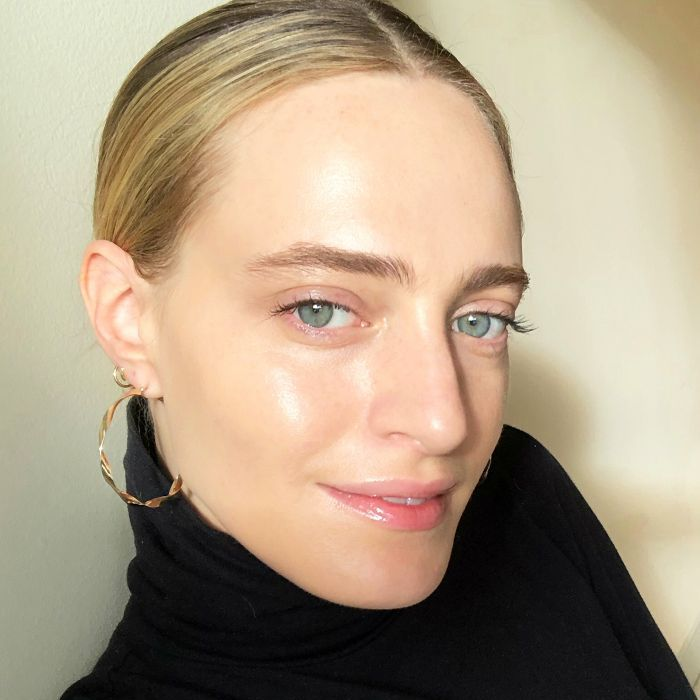 Hallie Gould in Glossier makeup