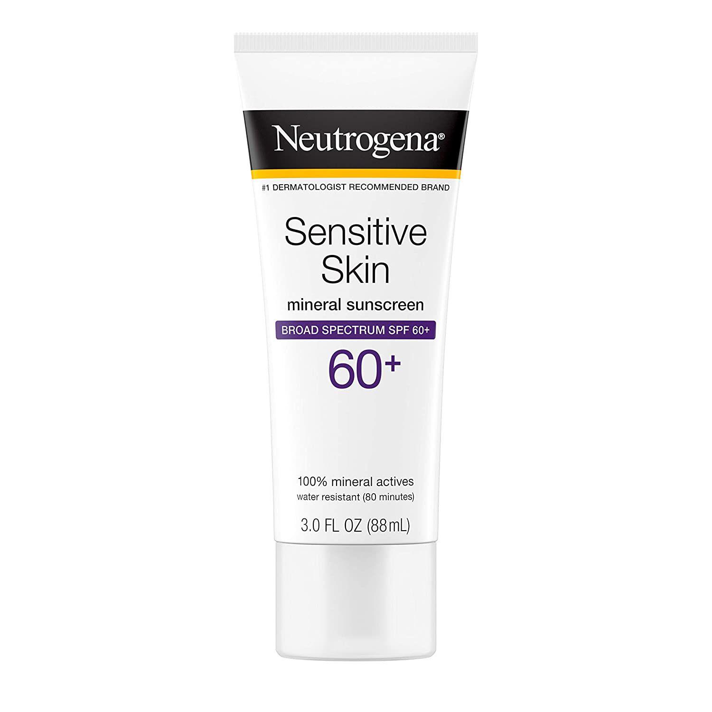 Neutrogena Neutrogena Sensitive Skin Sunscreen Lotion Broad Spectrum SPF 60+ Sensitive Skin Sunscreen Lotion Broad Spectrum SPF 60+
