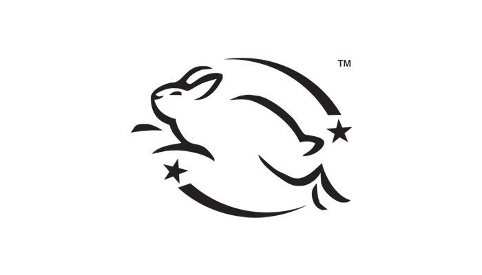 leaping bunny or cruelty free symbol on beauty products