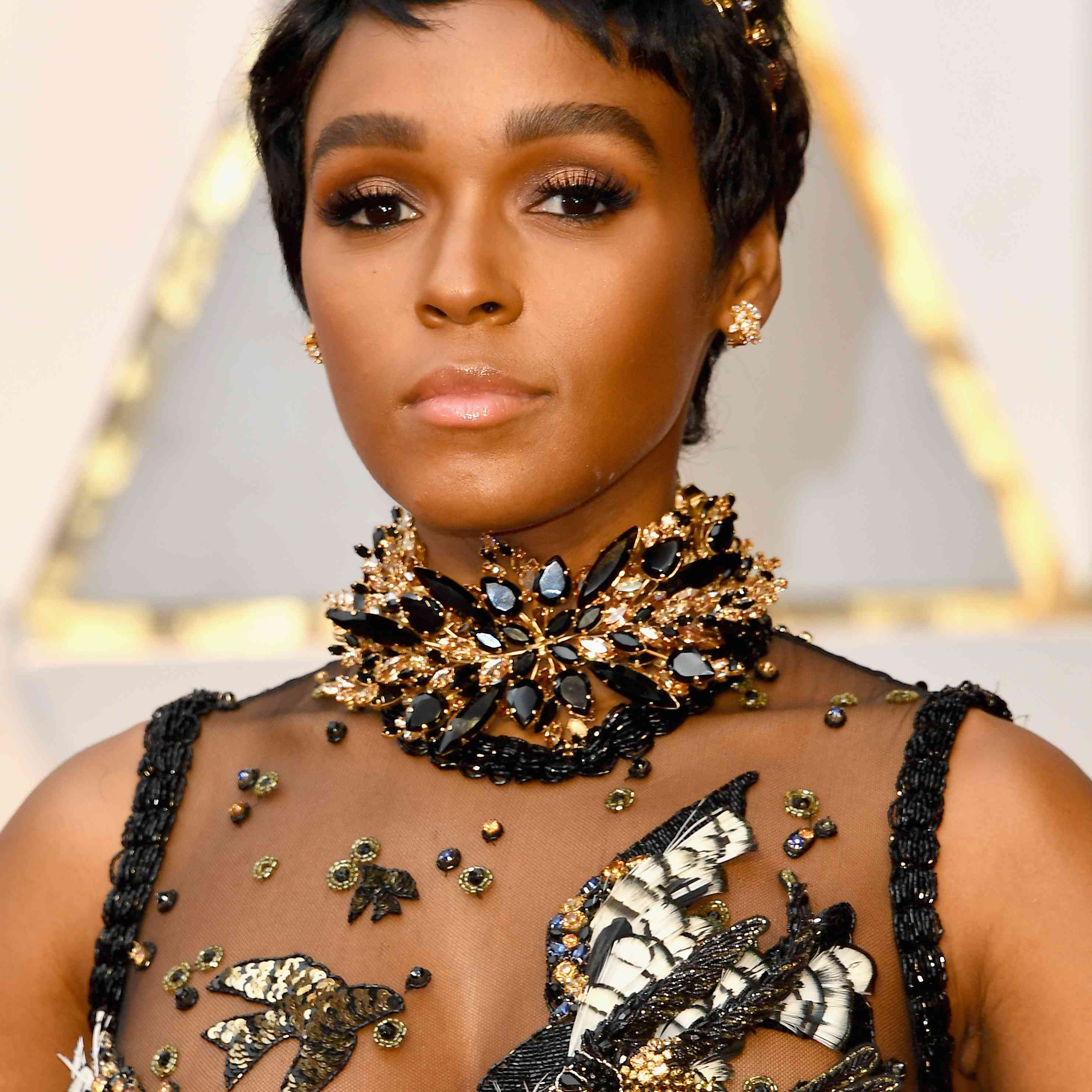 Janelle Monae Prom Hairstyles