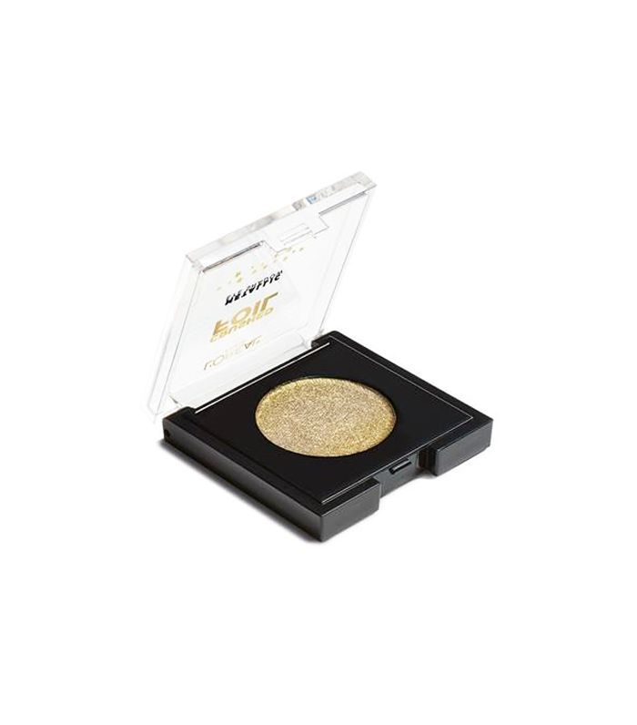 best single eyeshadows: L'Oréal Paris Crushed Foils Metallic Eyeshadow in Gold