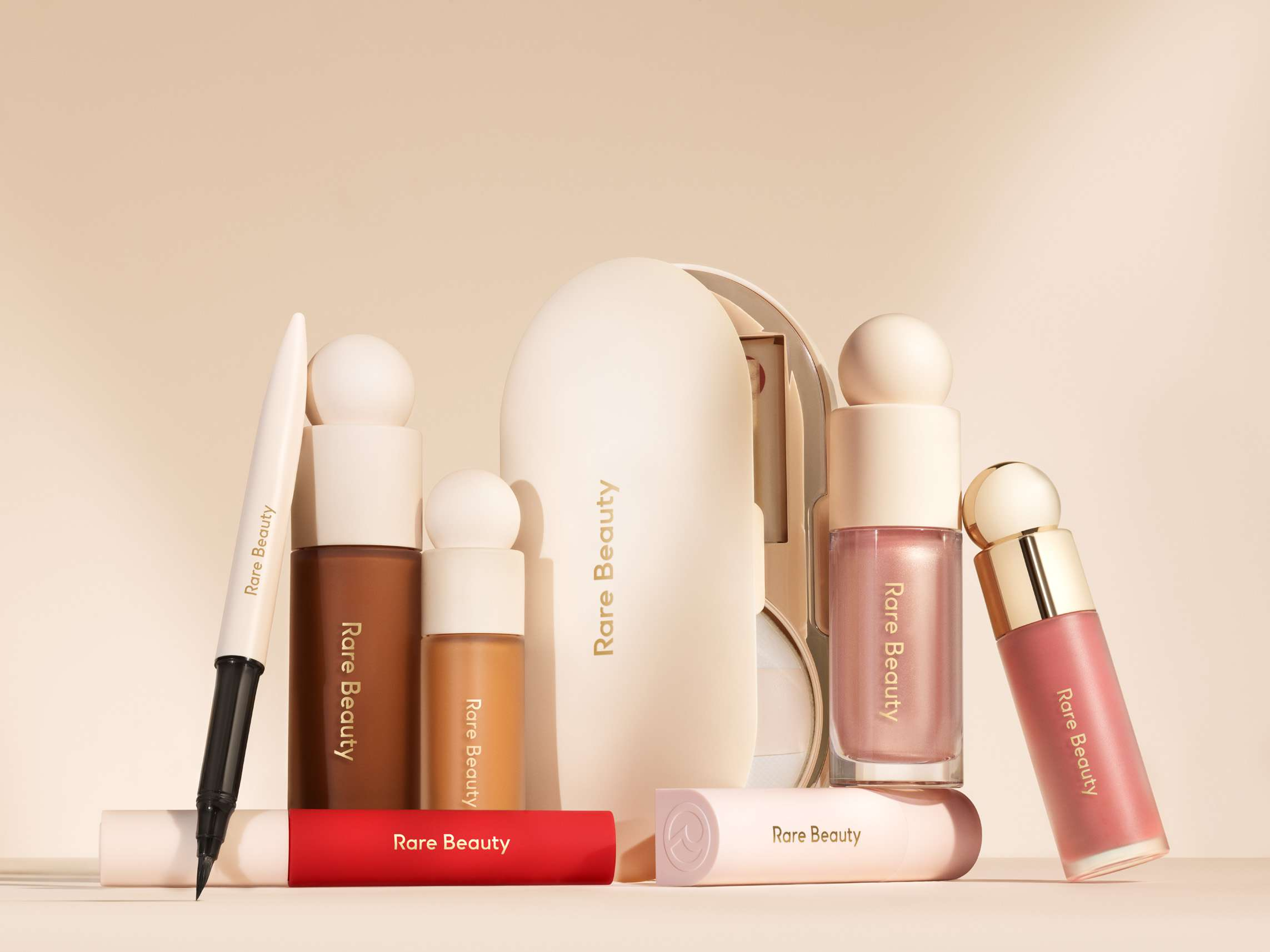 rare beauty product lineup