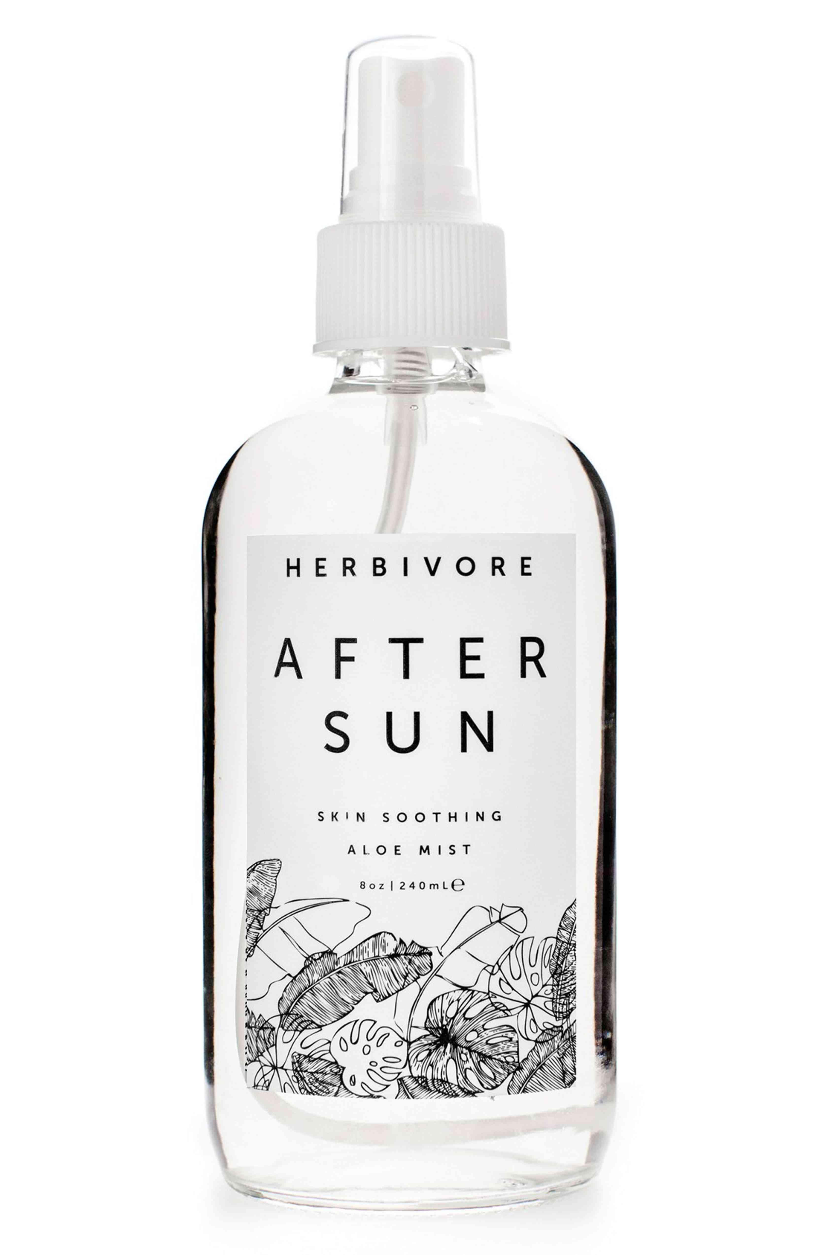 herbivore botanicals after sun spray