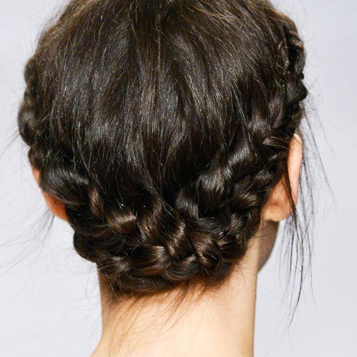 Braids: Reverse halo braid