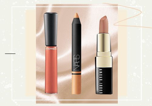 3 different nude lipsticks for different skin tones