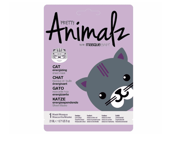 masqueBAR Pretty Animalz Sheet Mask