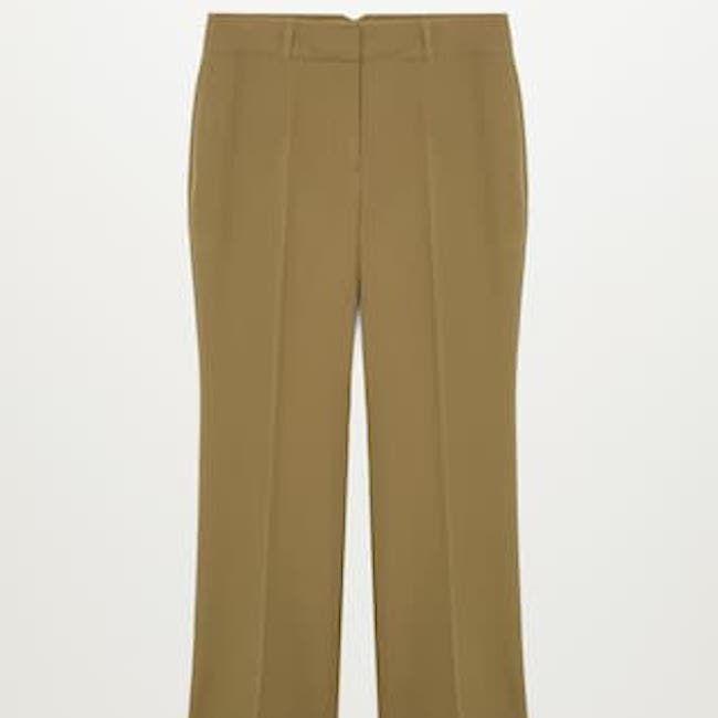Violeta by Mango Flowy Suit Trousers