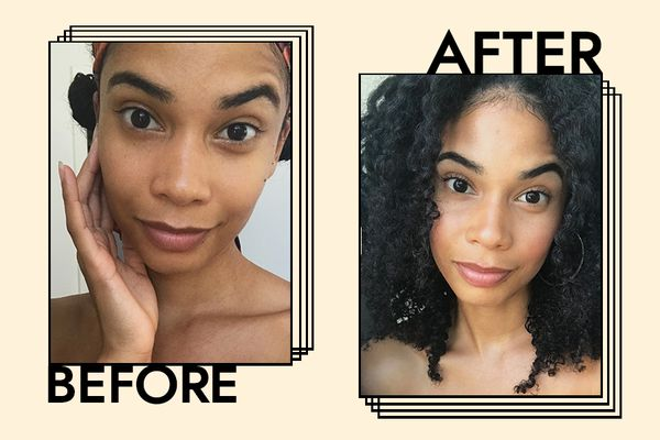 Uoma Beauty Say What Foundation Results on Celeste Polanco
