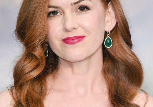 Red hair: Isla Fisher