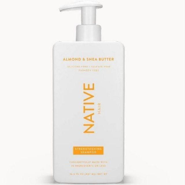 Native Almond & Shea Butter Strengthening Shampoo