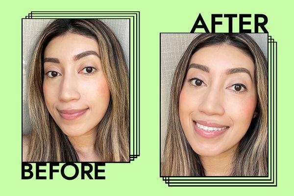 Hourglass Caution Mascara Results on Karla Ayala