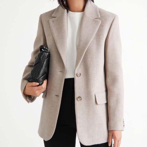 Oversized Wool Blazer ($219)