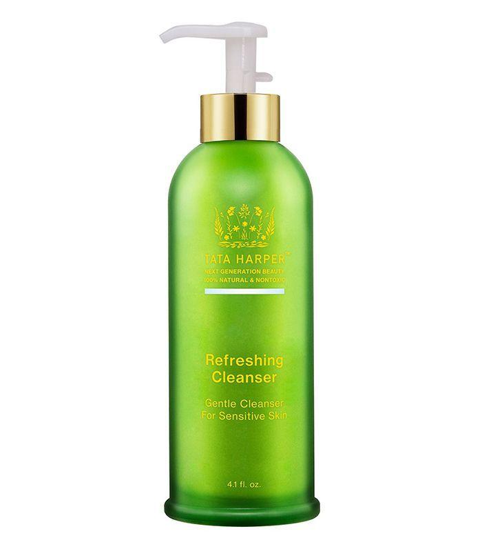 Best face cleanser for sensitive skin: Tata Harper Refreshing Cleanser