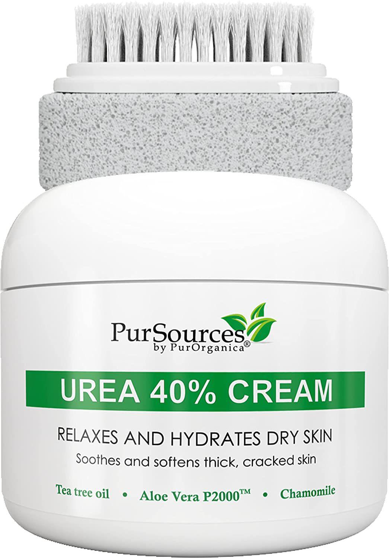 PurOrganica Urea 40 Percent Foot Cream