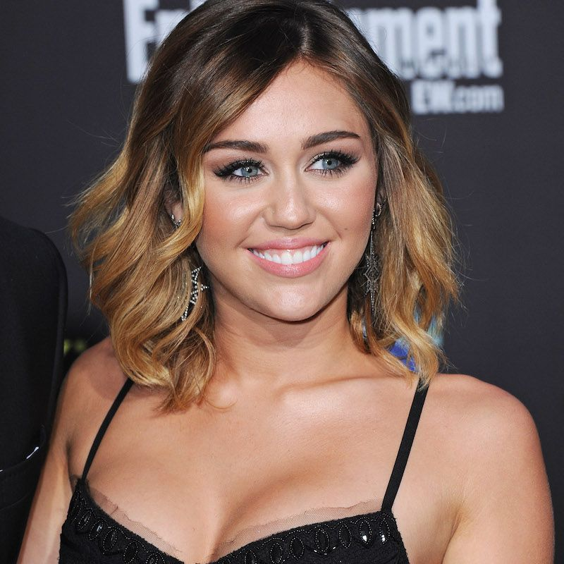 Brown Ombré Hair Miley Cyrus