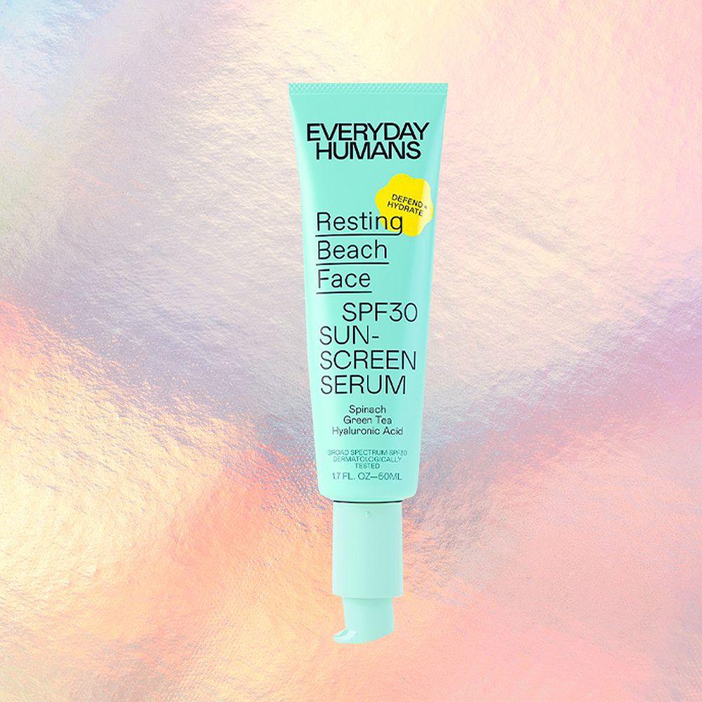 Everyday Humans Resting Beach Face Sunscreen Serum