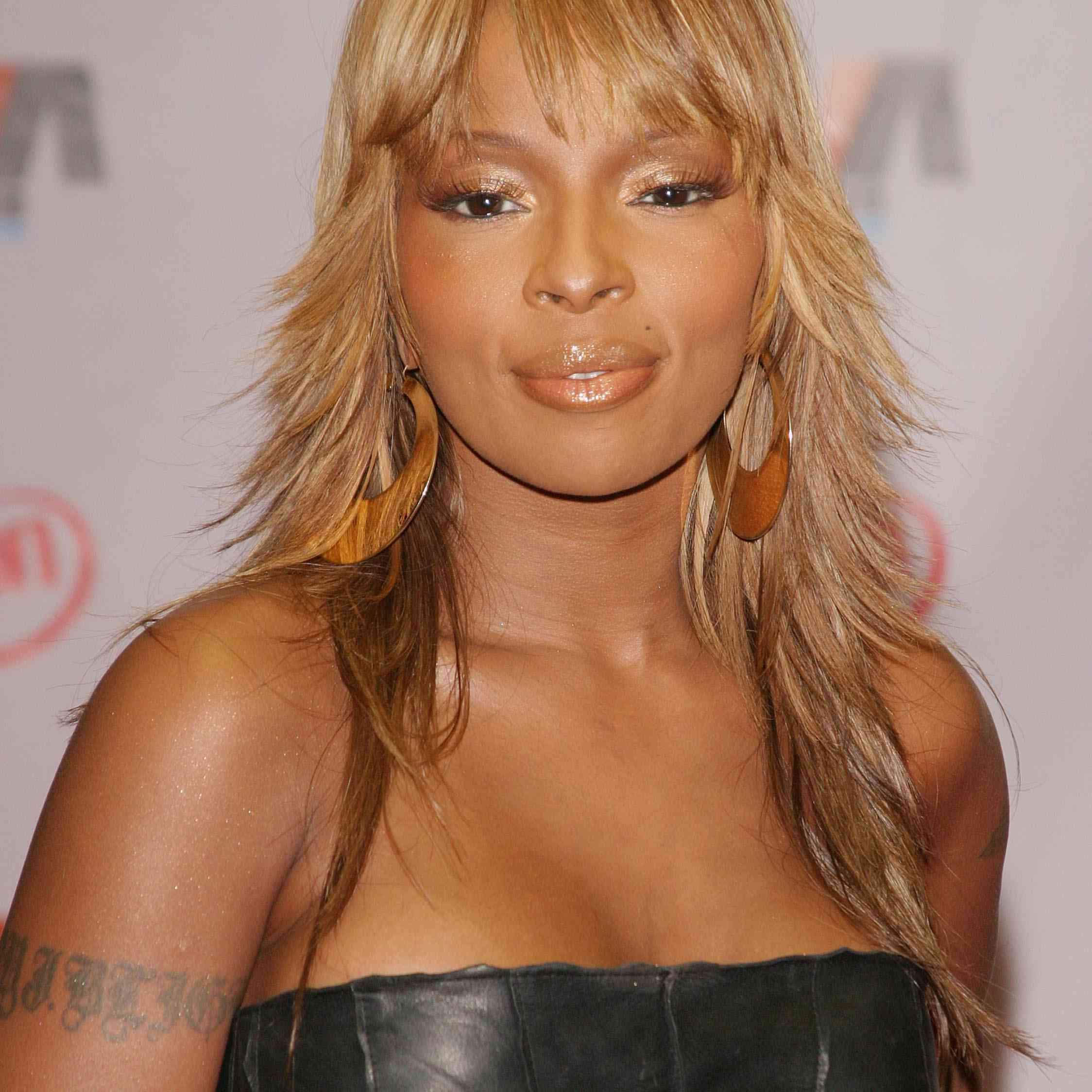 Mary J. Blige at the 2003 Vibe Awards - Arrivals