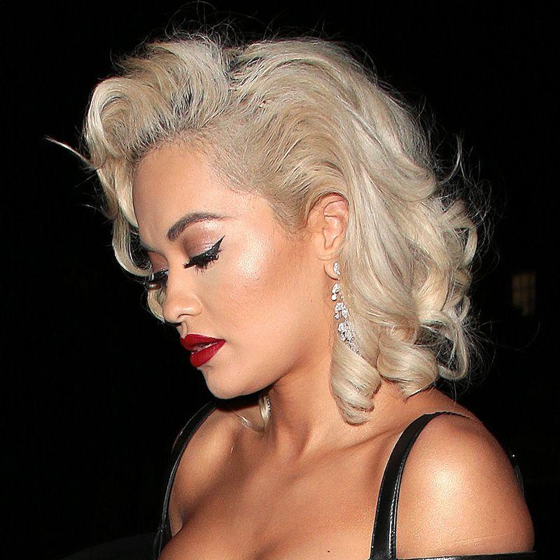 White Blonde Hair Rita Ora