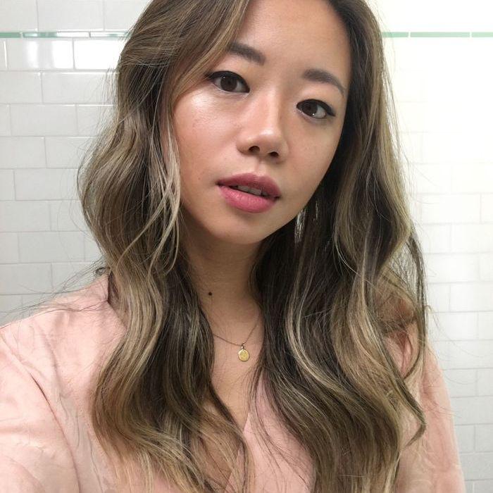 Faith Xue wearing Rituel de Fillie Rare Light Luminizer