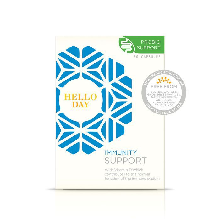 eczema around mouth: Hello Day Immunity Support