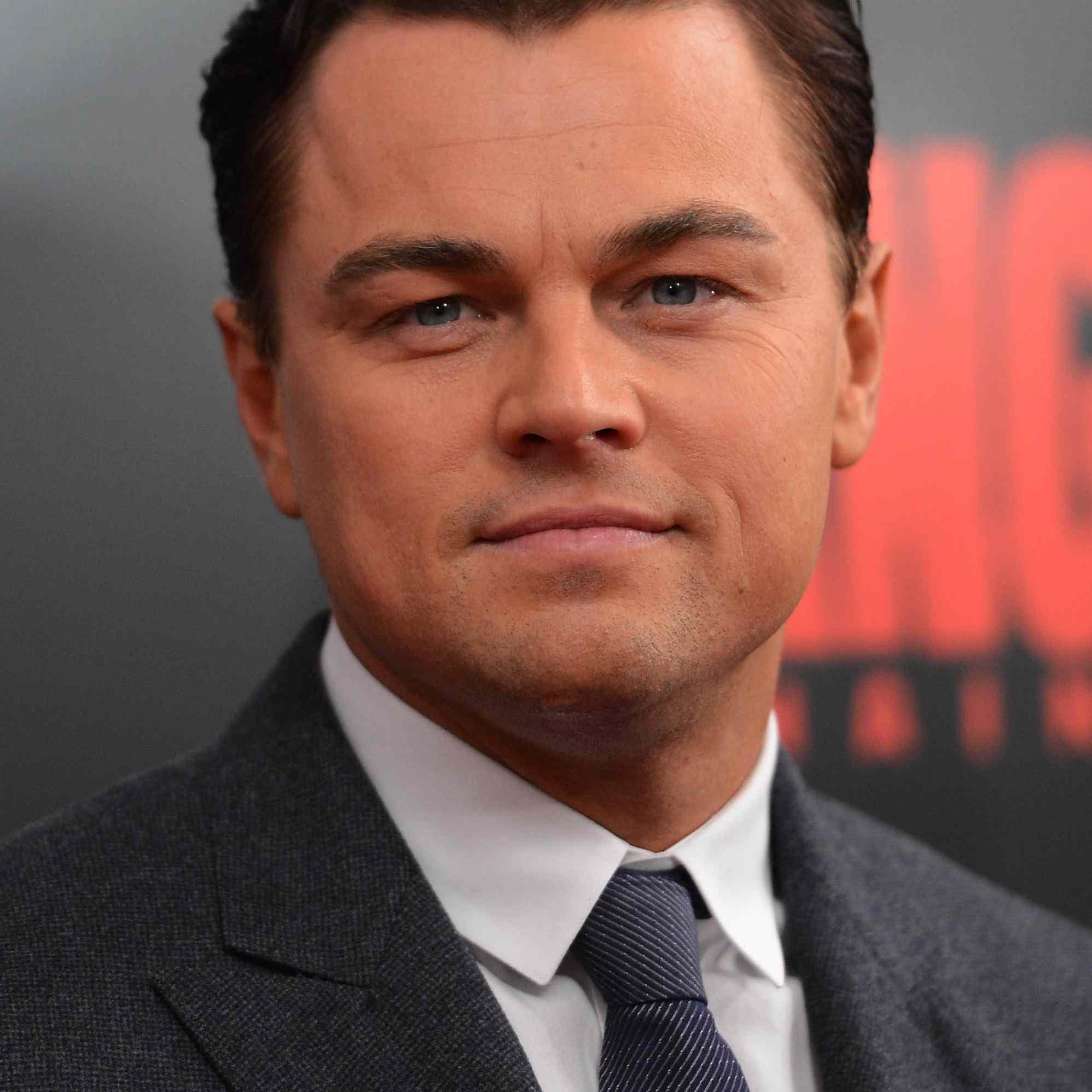 Leonardo DiCaprio Hair 2012
