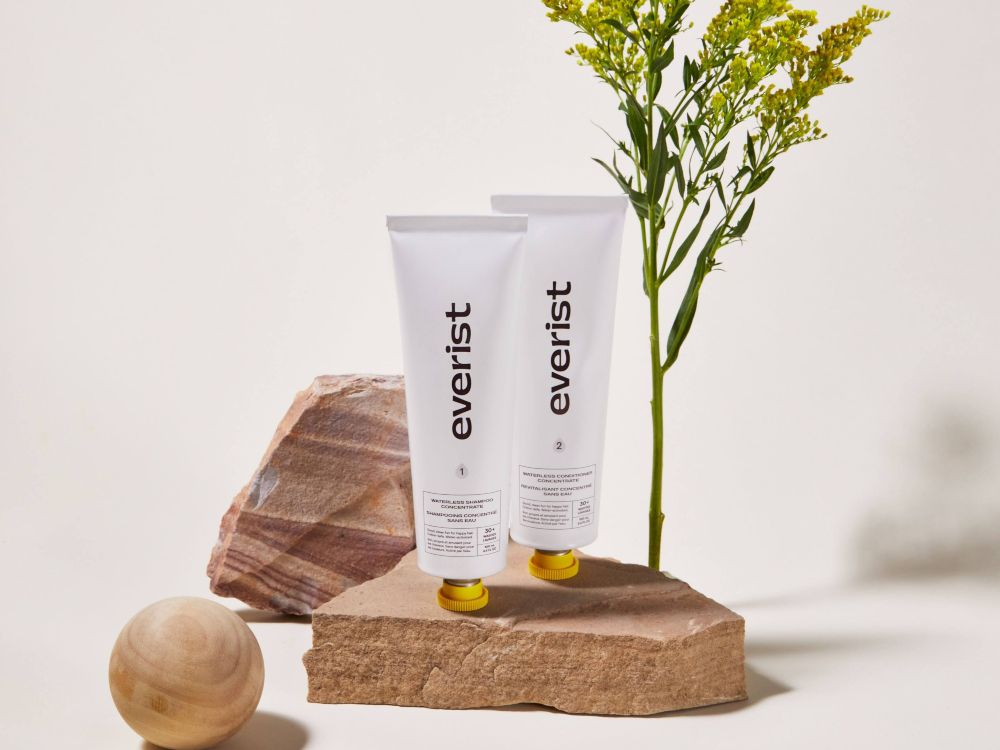 Everist Launches Zero-Waste and Waterless Haircare