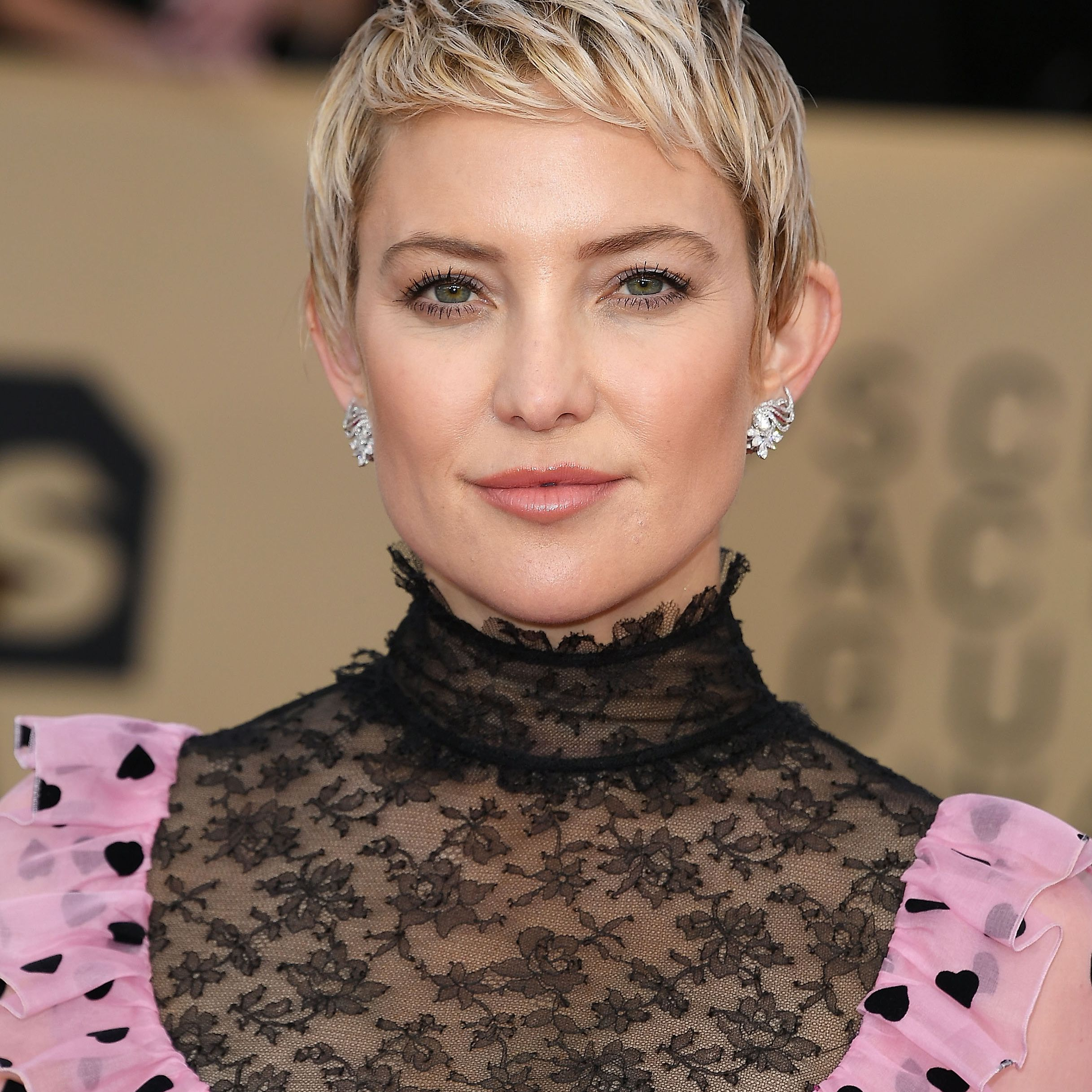 Kate Hudson with a pixie haircut