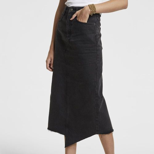 Ksubi Jagged Skirt Downtown Black