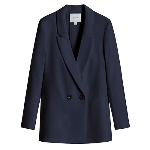 Linen Double-Breasted Blazer ($275)
