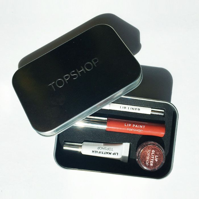 topshop lip kit review